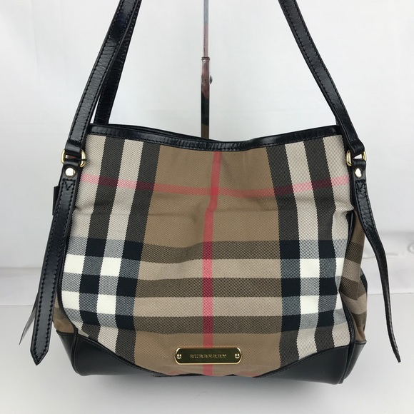 ca72a11a495 Burberry Bags | Bridle House Check Small Canterbury Tote | Poshmark